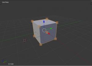 3Dview上のオブジェクト頂点位置を取得してopenGLで表示する