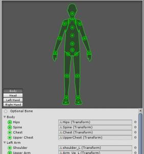Unity Mecanim Humanoid 用Blender Armature ダウンロード