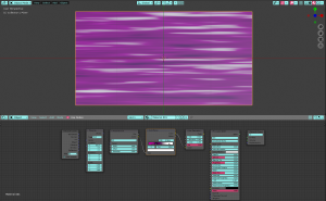 Blenderでアニメの戦闘シーンでよくある背景スクロール(流背効果)