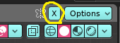 x-mirrorオプションをONに